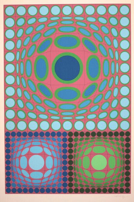 Victor Vasarely, 'Tri Vega'