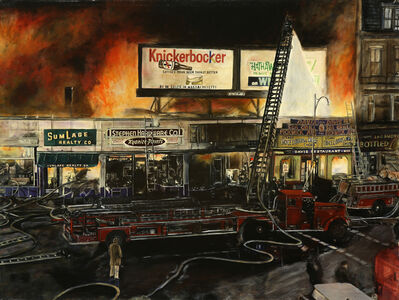 Robert Preston, 'Brookline Fire', 2000