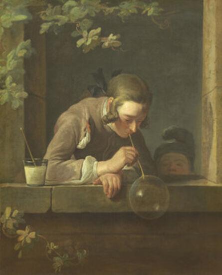 Jean-Siméon Chardin, 'Soap Bubbles', 1733-1734