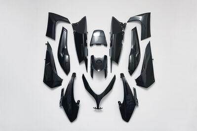 Caroline Delieutraz, 'Black Armor', 2017