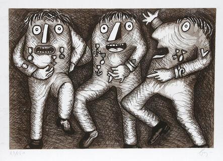 Enrico Baj, 'Decorati', ca. 1975