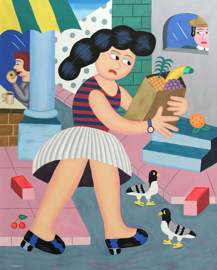 Andy Rementer, 'Fruitless', 2018