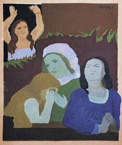Beatriz González, 'Ánimas benditas (Blessed Souls)', 1967