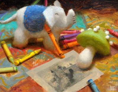 Daniel Keys, 'Felt and Crayons', 2012