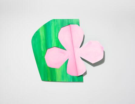 Wonwoo Lee, 'Hidden clover (pink)', 2017