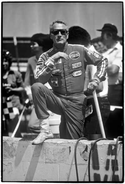 Al Satterwhite, 'Paul Newman, Riverside Raceway, Riverside, CA', 1979