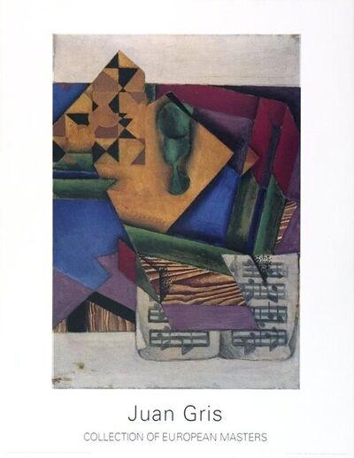 Juan Gris, 'Das Notenblatt', 1995