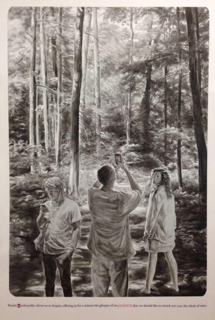 "Muntean & Rosenblum, 'Untitled (""Beauty is unbearable…"")', 2015"