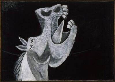 Pablo Picasso, 'Etude pour Guernica (Tête de cheval)', 1937