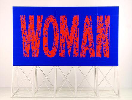Callum Morton, 'Screen #25: Woman', 2011