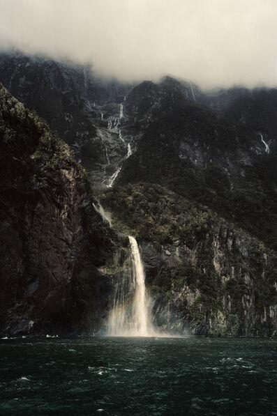 Bernhard Quade, 'New Zealand, Milford Waterfall', 2015