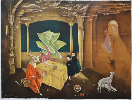 """Leonora Carrington, '""""And then we saw the daughter of the Minotaur""""', 2011"""