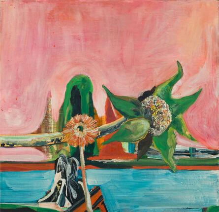 Santi Moix, 'Two Flowers', 2015