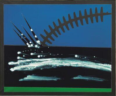 Franco Angeli, 'Impatto'