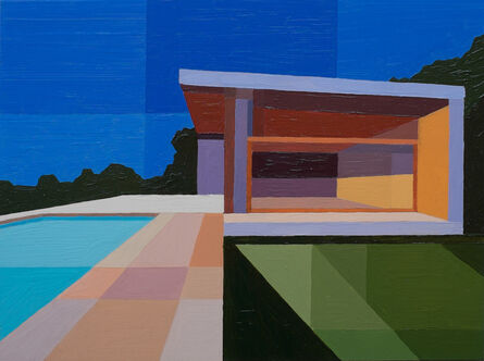 Andy Burgess, 'Pool House', 2016