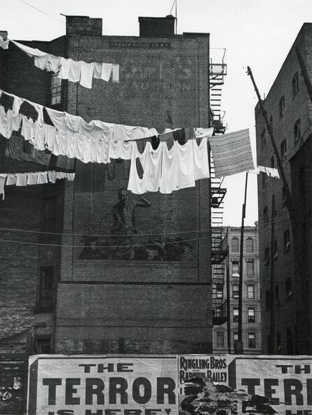 André Kertész, 'Untitled (laundry lines)', 1939