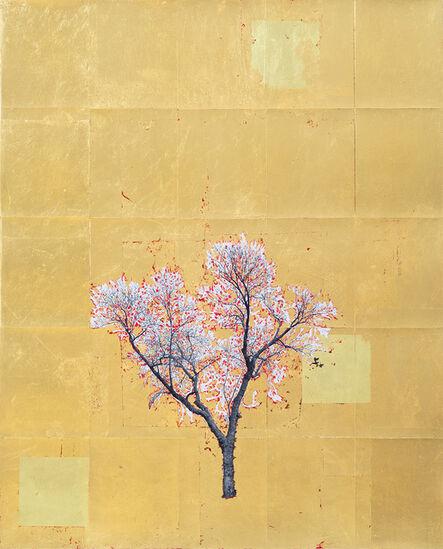 Daniel Ballesteros, 'Gold Leaf Tree No. 025', 2018