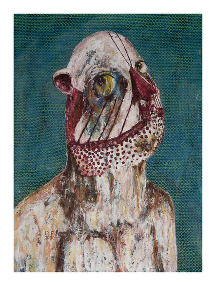 Doaa Fakher, 'Helmet Mask', 2020