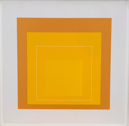Josef Albers, 'WLS X (from White Line Squares, Series II)', 1966