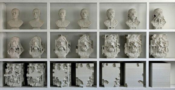 Andreas Burger, 'busts', 2012