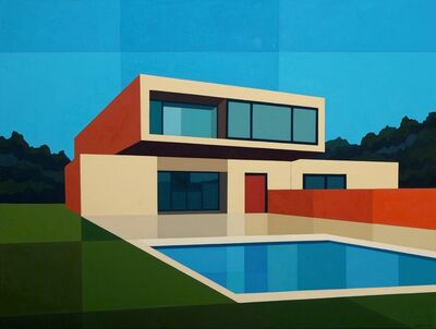 Andy Burgess, 'Cantilever Pool House', 2016