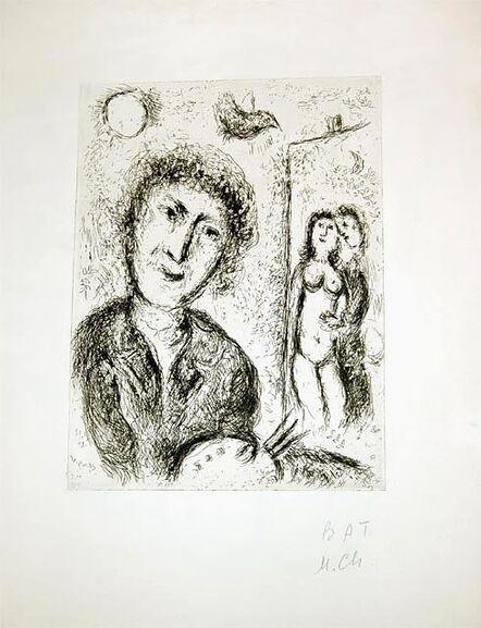 Marc Chagall, 'Autoportrait', 1979