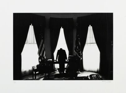 George Tames, 'John F. Kennedy in the Oval Office (The Loneliest Job in the World', 1961