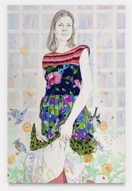 Kira Nam Greene, 'English Garden (Roya)', 2020
