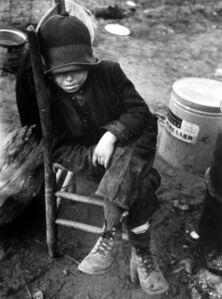 Arthur Rothstein, 'Flood Victim, Missouri', 1938