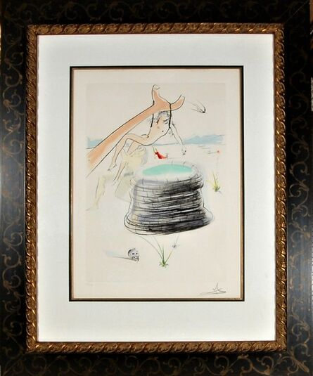 """Salvador Dalí, '""""Joseph"""" from the suite """"Our Historical Heritage""""', 1975"""