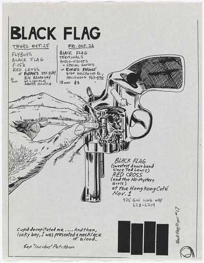 Raymond Pettibon, 'Raymond Pettibon Black Flag Tour Dates 1979', 1979