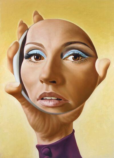 Richard Phillips, 'Girl in Mirror', 1998