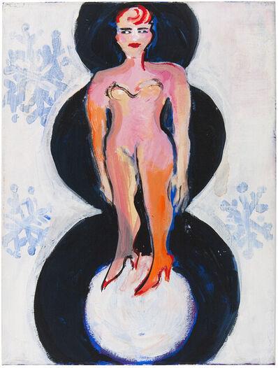 Elvira Bach, 'Schneemann', 2004