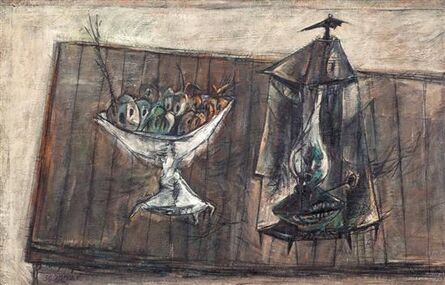 Yosl Bergner, 'Friends', 1956