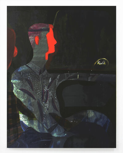 Louis Fratino, 'Night Driver', 2015