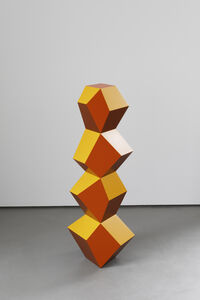 Angela Bulloch, 'Four Form Stack: Golden Copper', 2019