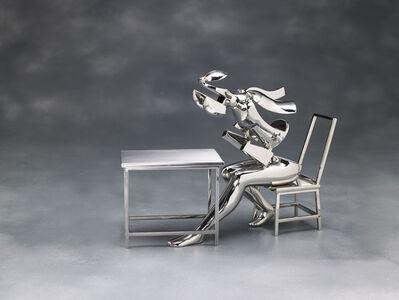Ernest Trova, 'Seated Figure II', 1988