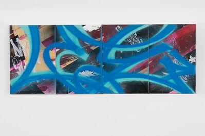 Lee Quinones, 'Born to Bomb (Bomb series. 4 panels)', 2021