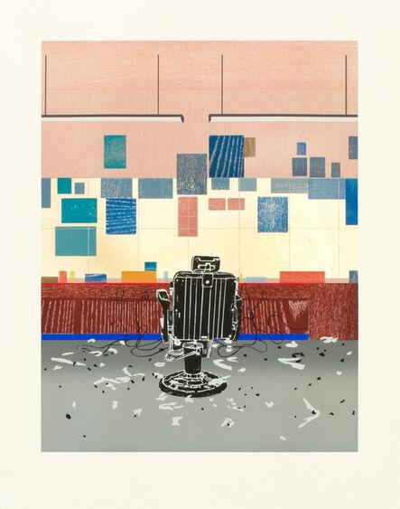 Hurvin Anderson, 'Barbershop Print, Lana Royal', 2010