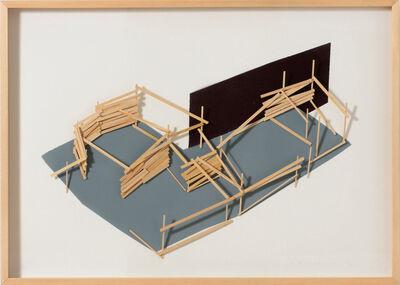 Tadashi Kawamata, 'Site Plan 2', 1992