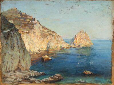 Constantin Alexandrovitch Westchiloff, 'Effets de lumière à Capri'