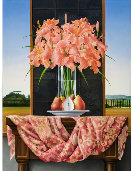 James Aponovich, 'Still Life with Daylilies and Pears', 2014