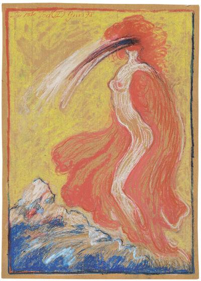 """Günter Brus, '""""Der rote Tod (II)"""" (Red Death (II))', 1978"""