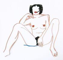 Tom Wesselmann, 'MONICA SITTING WITH LEGS SPREAD', 1985-1997