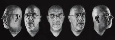 Chuck Close, 'Self-Portrait/ Five Part', 2009