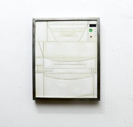 Victoria Núñez Estrada, 'De la serie Postrer trance, monachopsis ', 2018