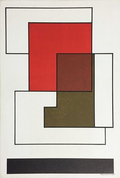 Falves Silva, 'Untitled, from the series 'Mondrian'', 1985