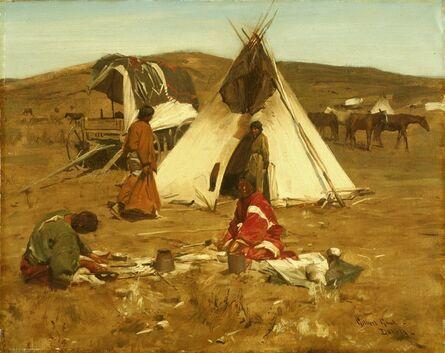 William Gilbert Gaul, 'Dakota Indians', circa 1890