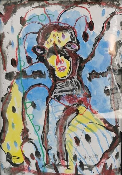 Obodje, 'Apprentissage de la forêt 5', 2020