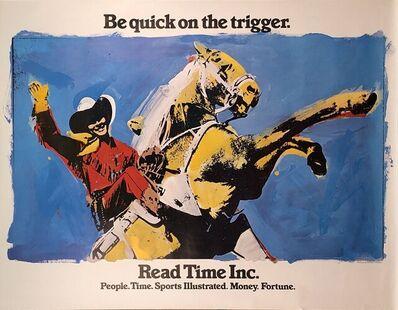 Richard Pettibone, 'Be Quick on the Trigger', 1977